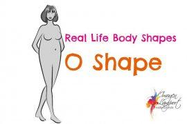 Real life body shape O shape or apple shape