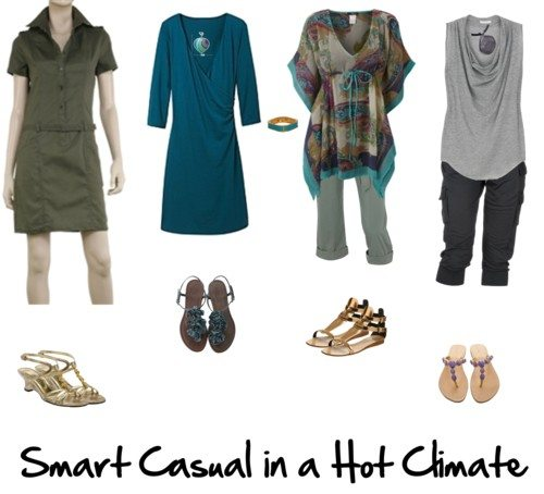 How to do Smart Casual in a Hot Climate