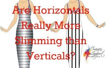 Which are really more slimming horizontal lines or vertical lines