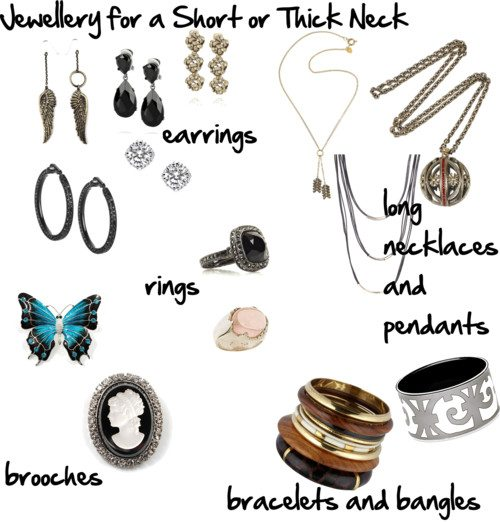 Jewellery for a Short or Thick Neck