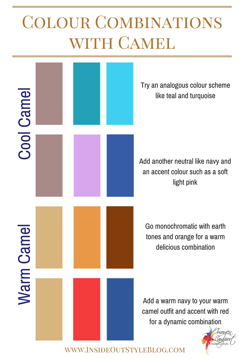 How To Combine Camel With Colours And Choose Between A Warm Cool
