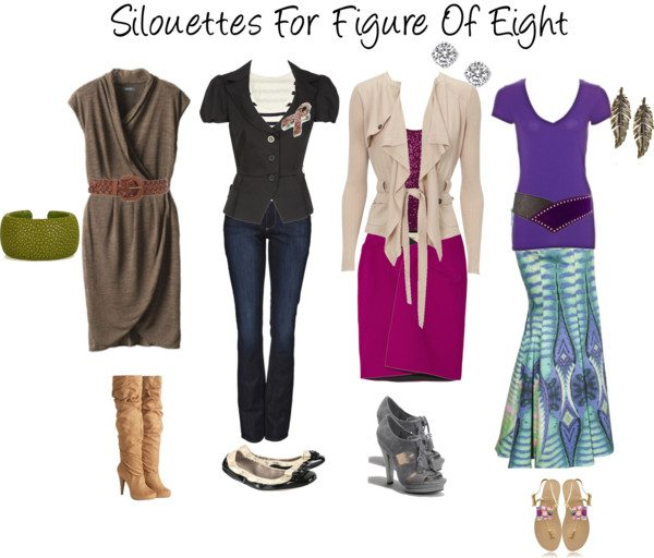 Guest Post – Real Life Dressing a Figure 8 Shape