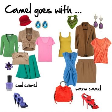 Colours to coordinate with camel and beige