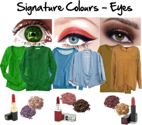 signature colours eyes