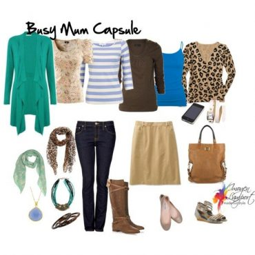What to Wear as a Busy Mum - a wardobe capsule for your life