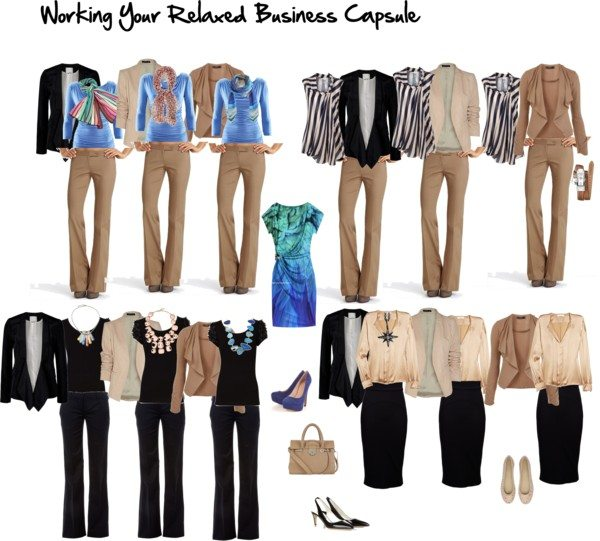 Wardrobe Capsules for Your Life – Relaxed Business