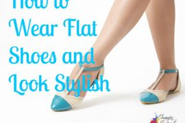 How to wear flat shoes and look stylish