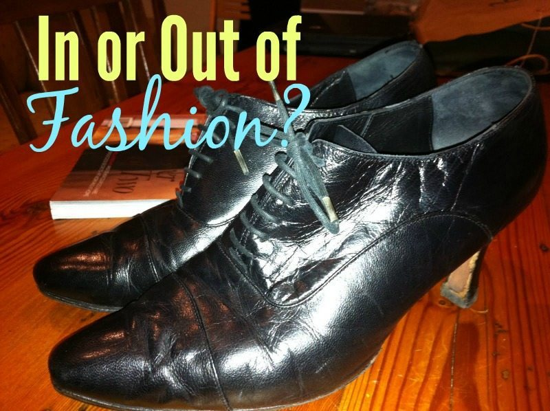 How do you know if something is in or out of fashion?