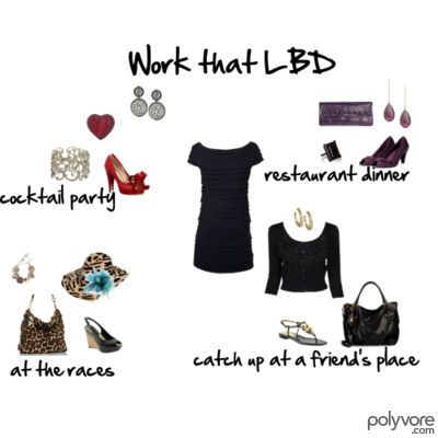 How to Work that Little Black Dress