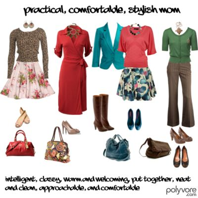 How to Dress the Comfortable, Practical, Stylish Mum