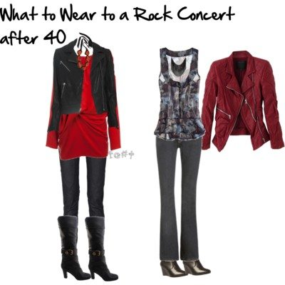 What to Wear to a Rock Concert When You're 40+