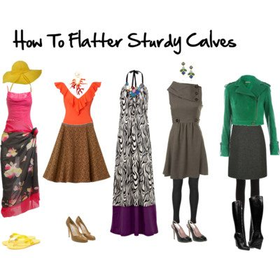 How to Flatter Sturdy Calves