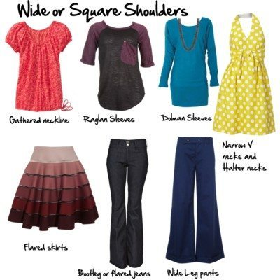 How to Minimize Wide or Square Shoulders