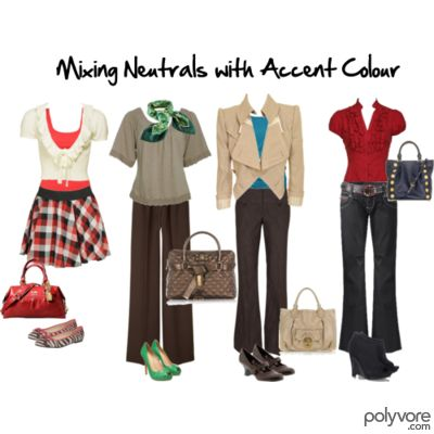 Mixing Neutrals with Accent Colour