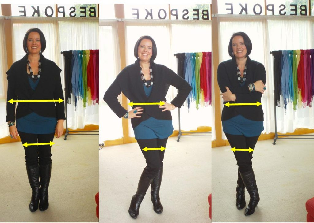 how to appear slimmer in photos