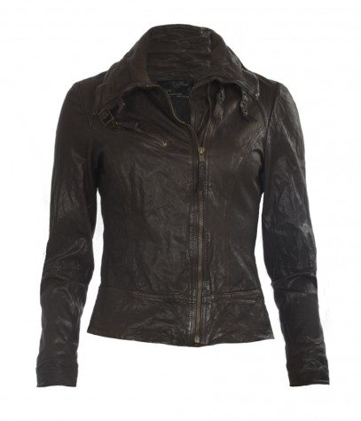 All Saints Leather Motorcycle Jacket