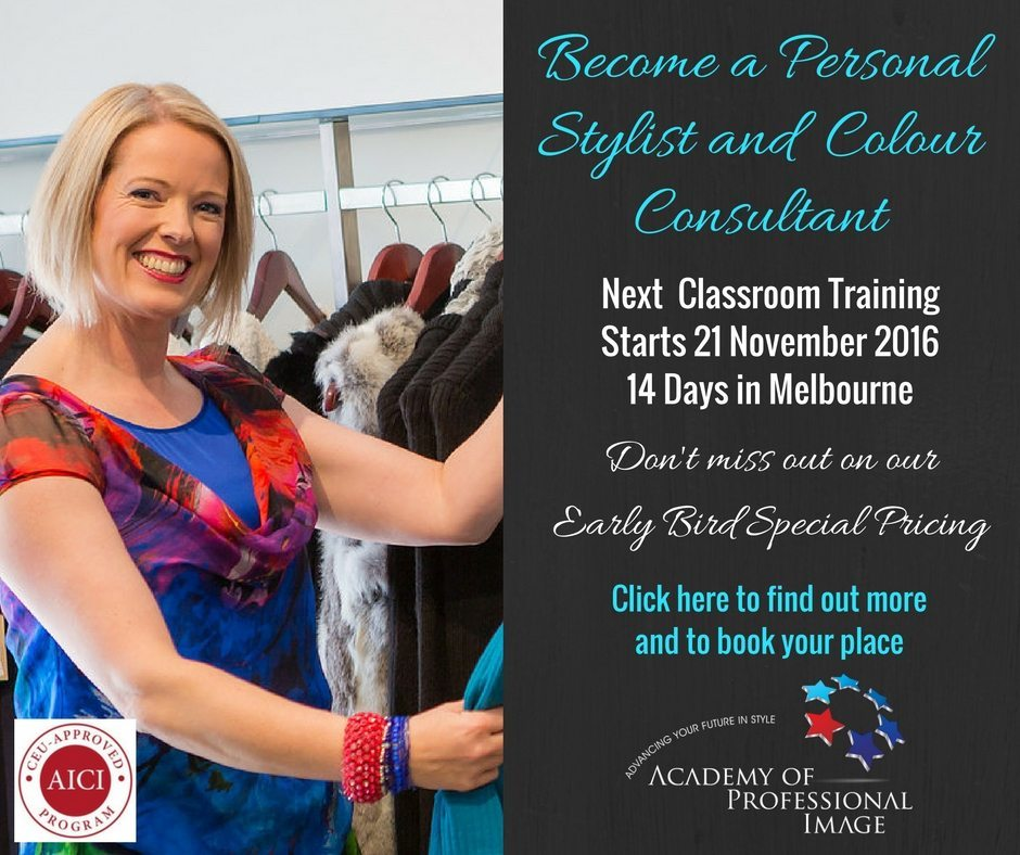 Become a certified personal stylist and image consultant with this comprehensive internationally accredited training program from the Academy of Professional Image
