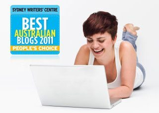 Vote for My Blog and Weekend Reading: 16 April 2011