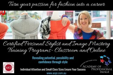 Become a persoonal stylist, colour and image consultant with our internationally approved comprehensive training program
