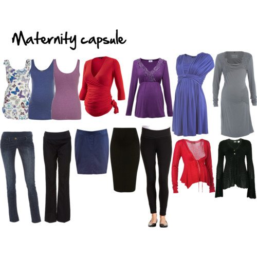 Wardrobe Capsules for Your Life – Maternity