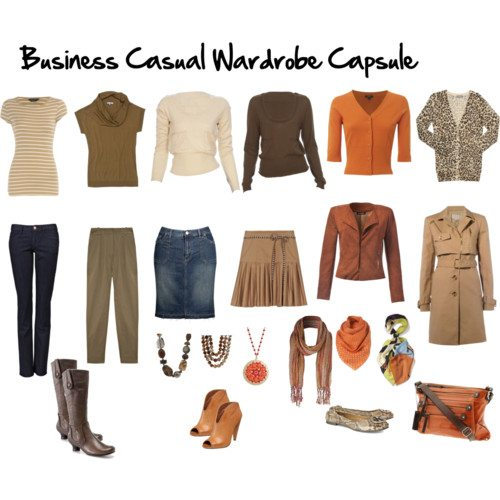 Business Casual Wardrobe Capsule