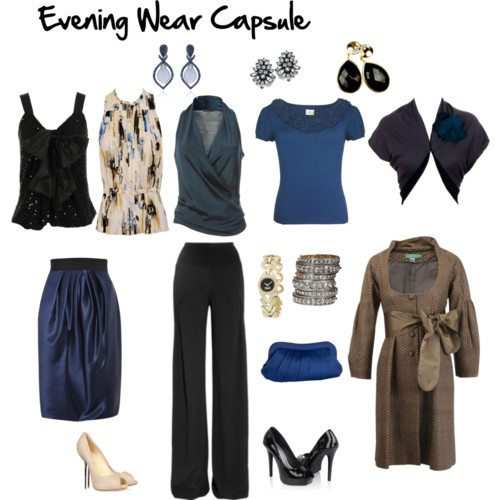 Wardrobe Capsules for Your Life – Evening Wear