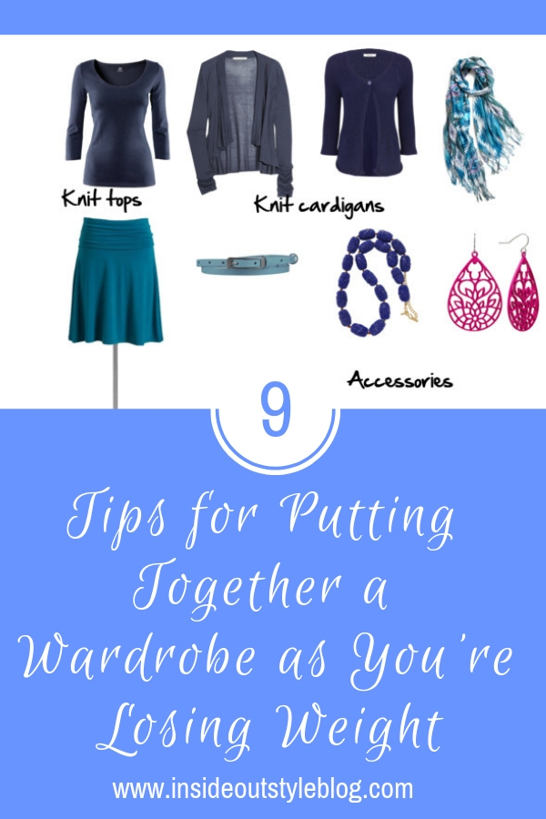 TOP TIPS FOR PUTTING TOGETHER A WARDROBE AS YOU'RE LOSING WEIGHT