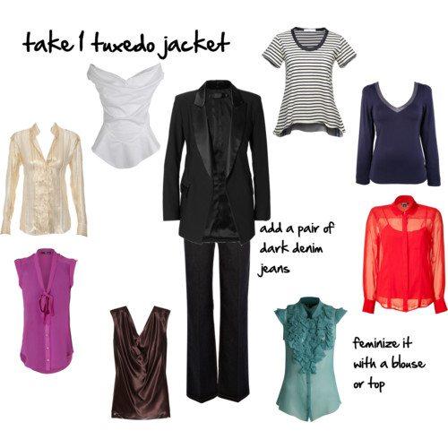 take 1 tuxedo jacket