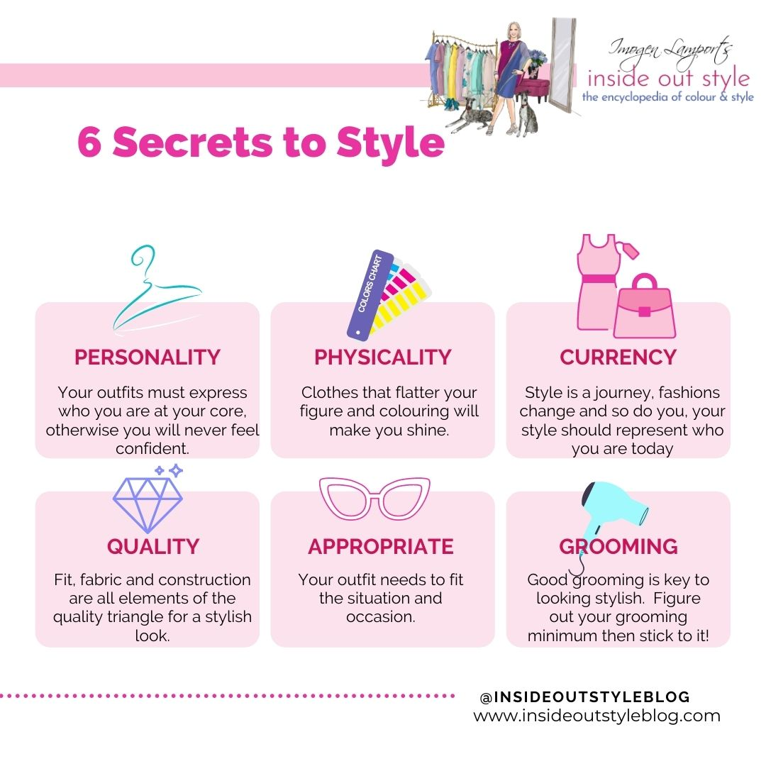 6 secrets to style