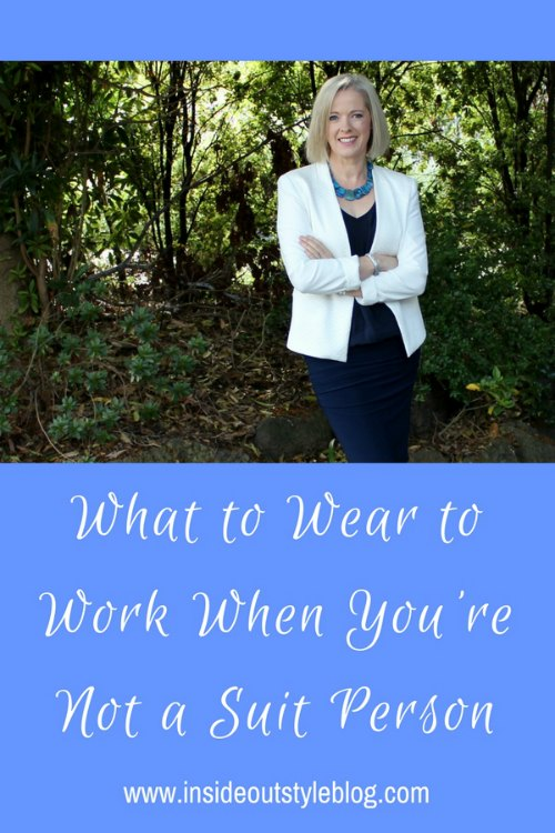 What to wear to the office when you don't like wearing suits but the dress code is more formal