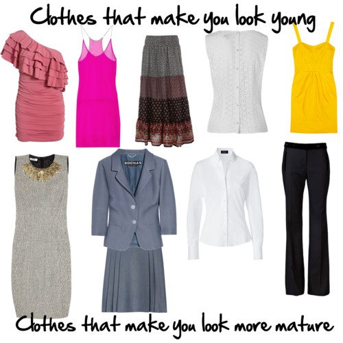 How to dress your age