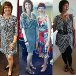 Prints and Dresses - L->R: Brenda Kinsel, Peta Spring, Suzanne Dekyvere, Evelyn Lundstrom