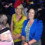 Imogen Lamport with Liz Hardy of Gem Marketing