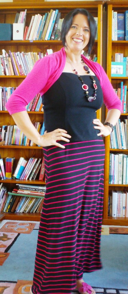 How to Wear Horizontal Stripes Without Looking Wide