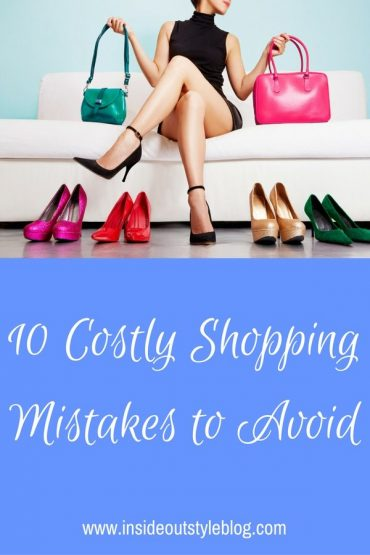 10 Costly Shopping Mistakes to Avoid