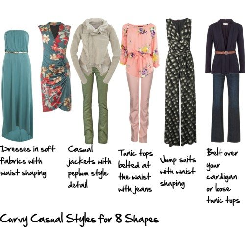 Casual Looks For The Curvy Body Inside Out Style