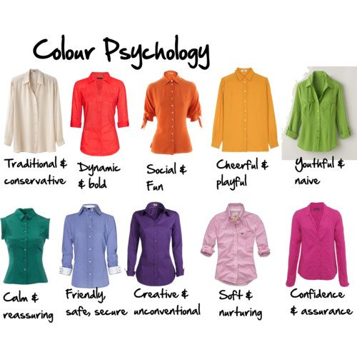 Colour Psychology by imogenl featuring v neck long sleeve shirts
