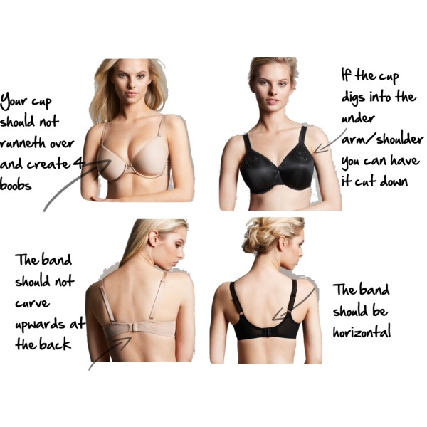 B is for Bras - Imogen Lamport's A-Z of Style - How to fit a bra