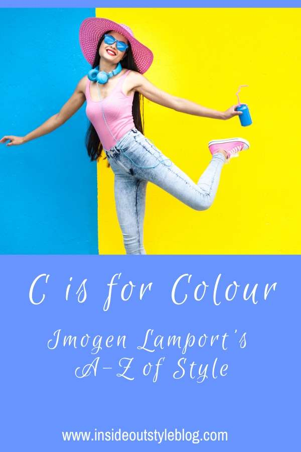 C is for Colour - Imogen Lamport's A-Z of style - how to choose and wear colours