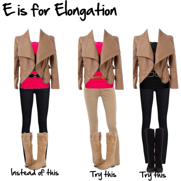 E is for Elongation - Imogen Lamport's A-Z of Style - How to dress taller and slimmer