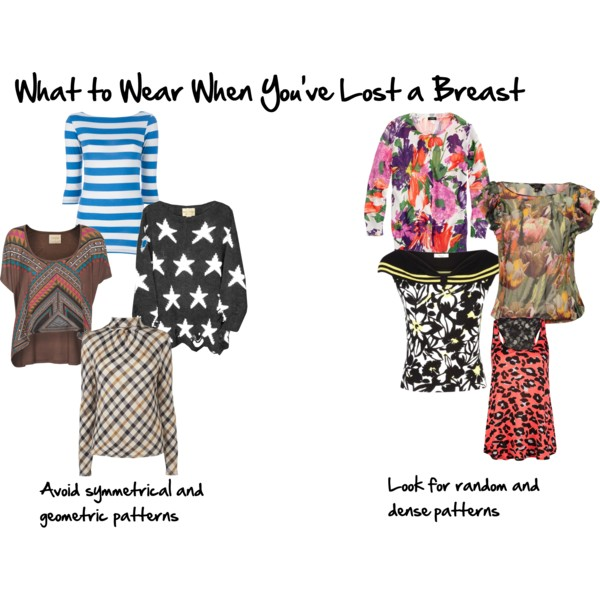 What to wear when you've lost a breast after a mastectomy - which are the best prints?