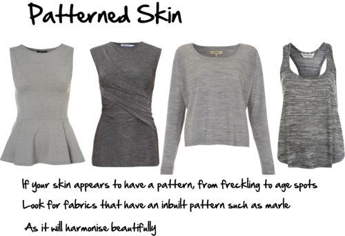 How to Flatter Patterned Skin