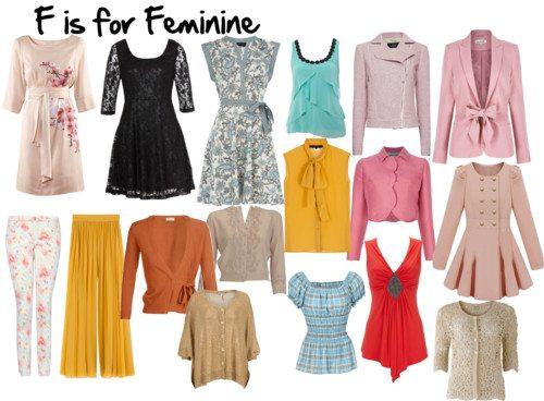 F is for Feminine