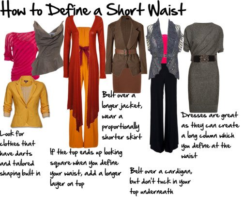 How To Define A Short Waist Inside Out Style