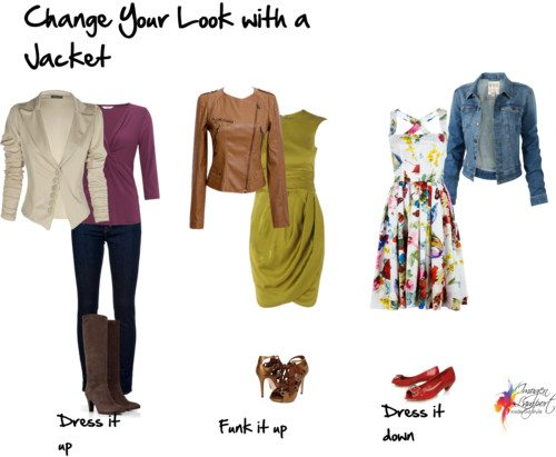 Change your look with a jacket