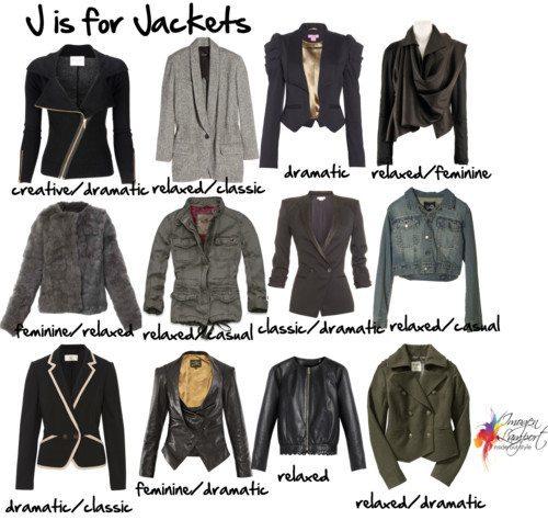 jackets personality
