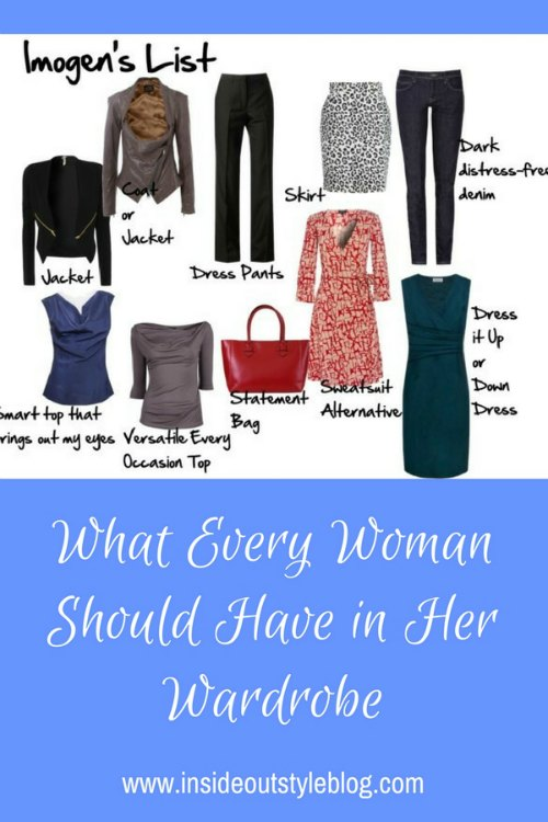 What Every Woman Should Have in Her Wardrobe