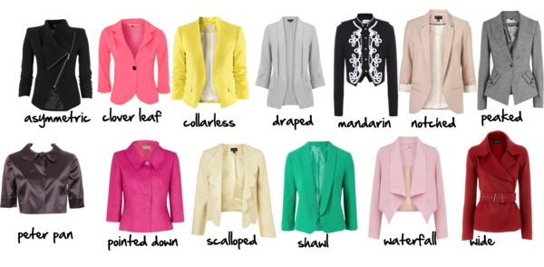 J is for Jackets - Jacket lapel styles
