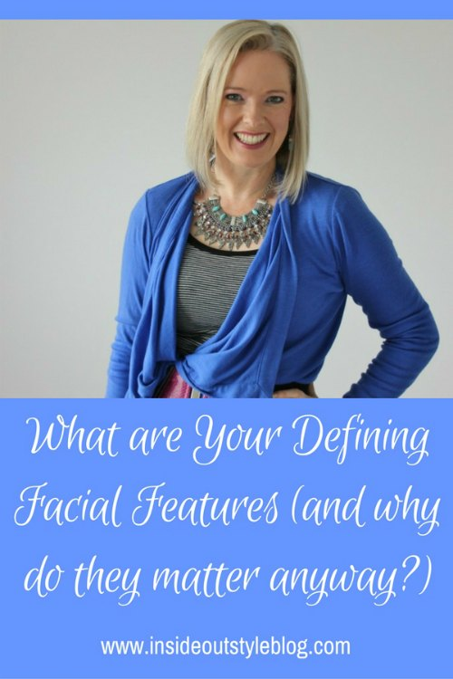 What are your defining facial features and why do they matter anyway? Discover their influence on the shapes of patterns, shoes and details in your outfits