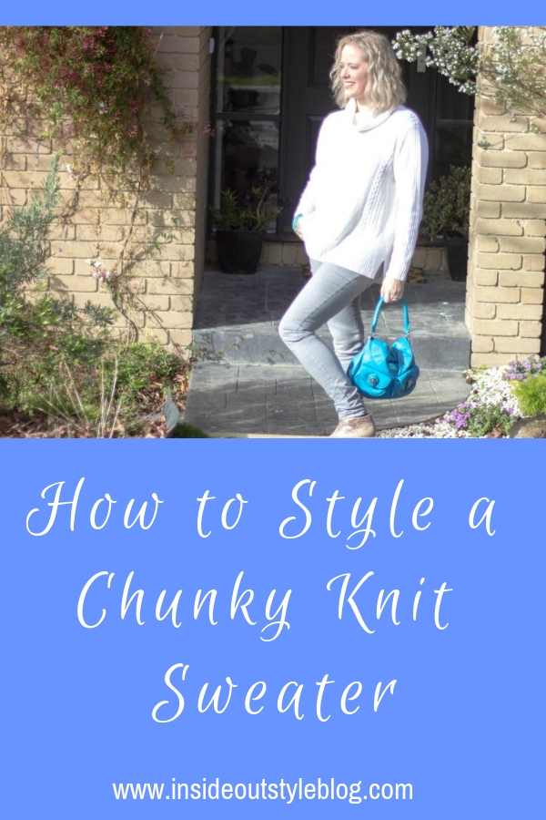 ow to style a chunky knit sweater